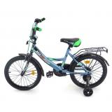 Велосипед MAXXPRO Sport серый/черный/зеленый Z18208