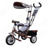 Велосипед 3колеса Космо-2 надув.колеса Коричневый