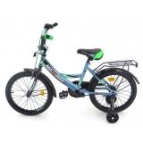 Велосипед MAXXPRO Sport серый/черный/зеленый Z16208