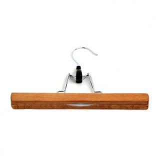 Вешалка 25см деревянная для брюк, светлое дерево /WCH25CМ