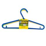 Набор вешалок для одежды 39см пластик С-3