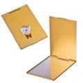 Зеркало карманное, металл, 6,7х10см, 16 дизайнов