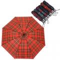 Зонт механический, металл, полиэстер, d100см, дл.спиц-54см, 24см, 6 цветов, 305G